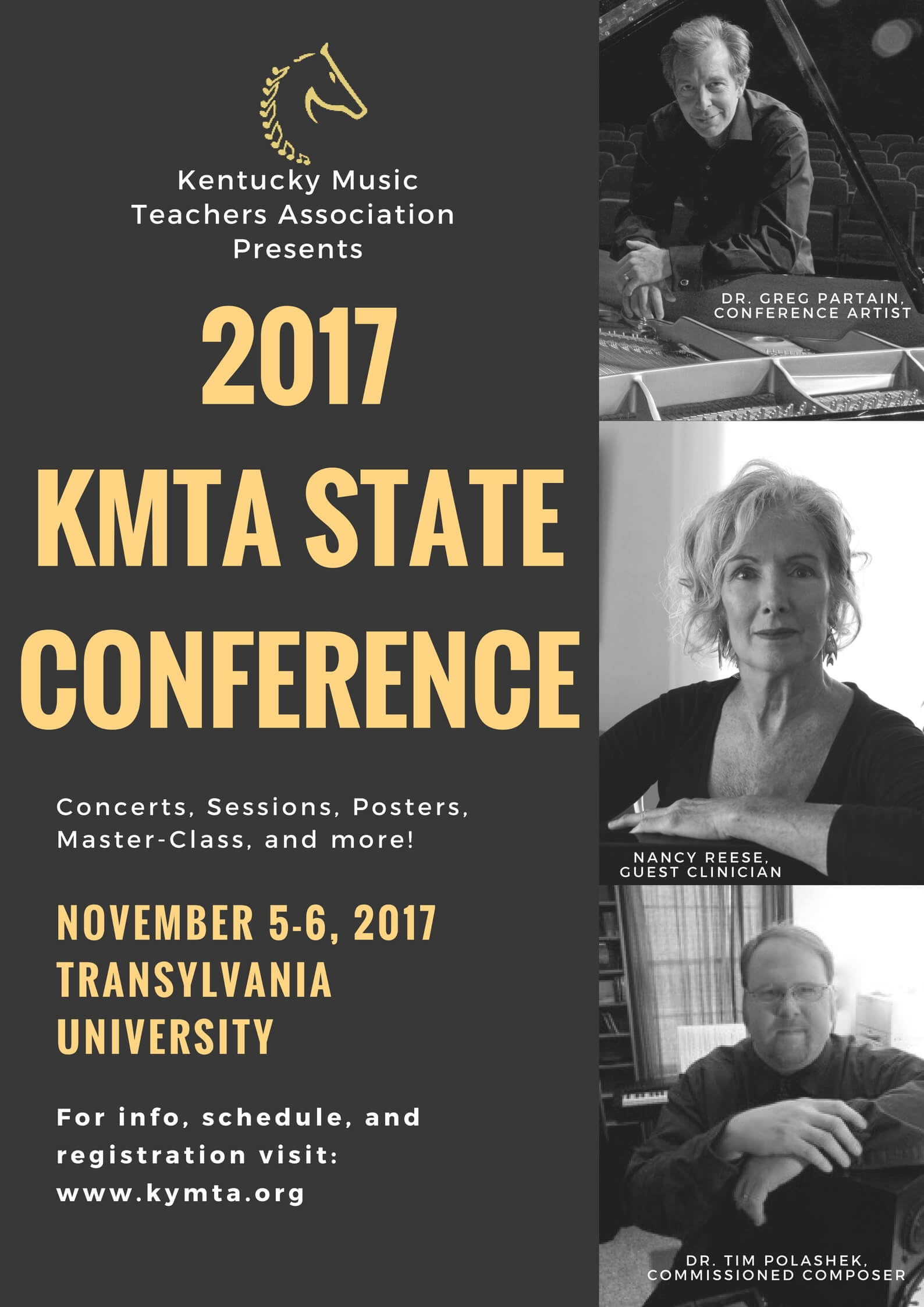 2017 KMTA State Conference poster