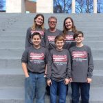 Ray and his students at All-State